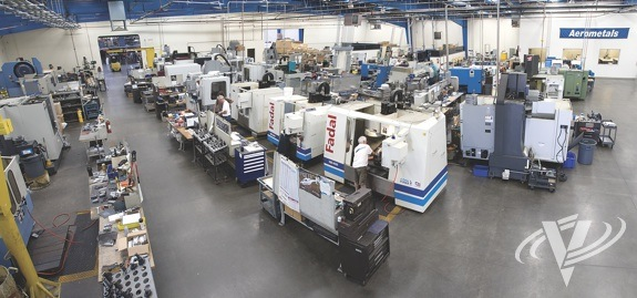 Aerometals has 125 employees working out of a 75,000-square-foot facility in El Dorado Hills, Calif.
