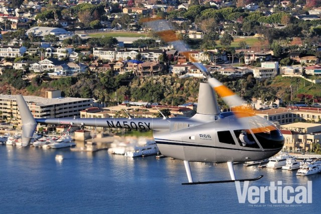 HeliStream said they will be utilizing their R66 Turbine for training and general charter work. Skip Robinson Photo