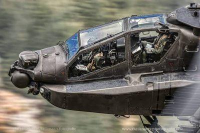 Army Air Corps Apache crew working in LFA7