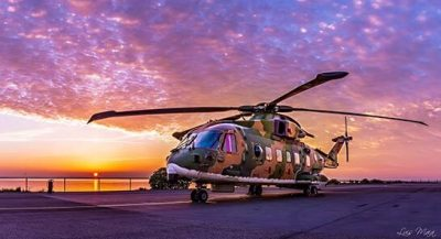 An EH-101 Merlin from Portugal's Esquadra 751.