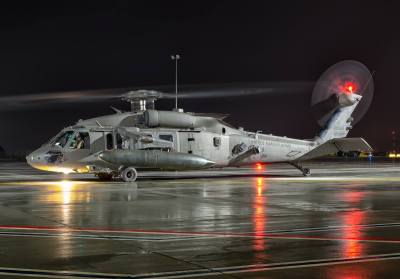 U.S. Army Sikorsky UH-60M Black Hawk.