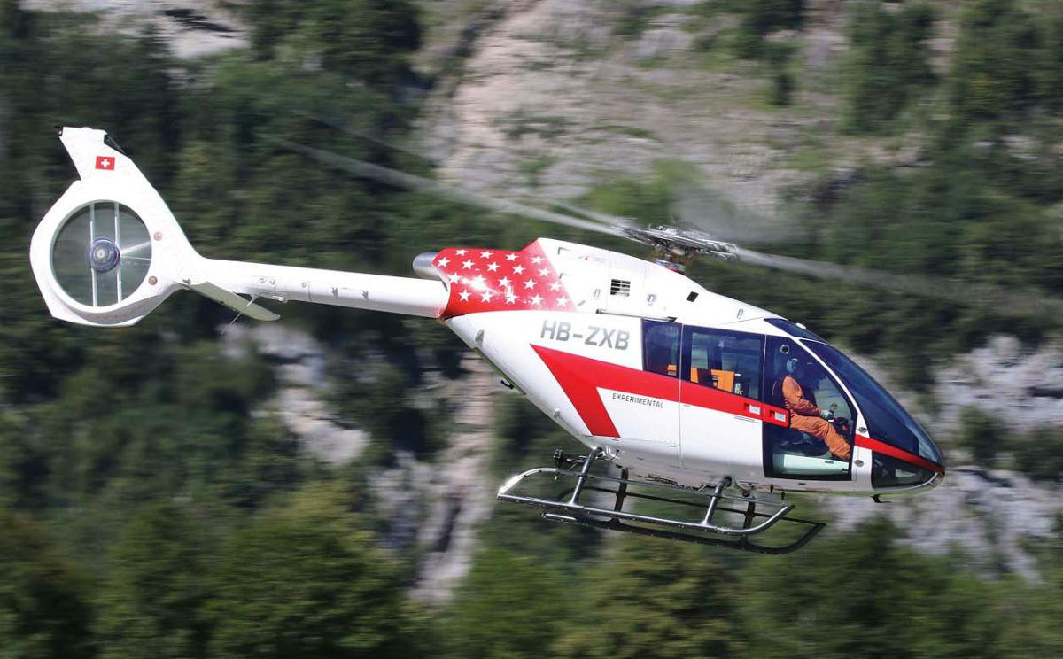 The Marenco Swisshelicopter SKYe SH09