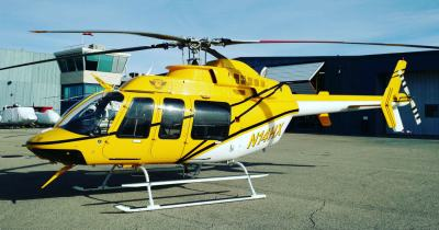 Powered by the Honeywell HTS900 engine, the Eagle 407HP was the first converted for Helicopter Express of Atlanta, Georgia. It will be used to support firefighting missions throughout the United States. Eagle Copters Photo