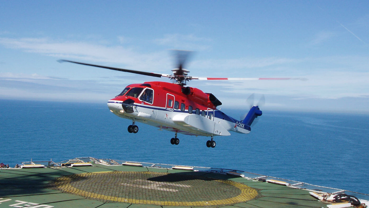 The alert service bulletin was prompted by a Dec. 28 incident in which a CHC-operated S-92 lost tail rotor authority while landing offshore. CHC Photo