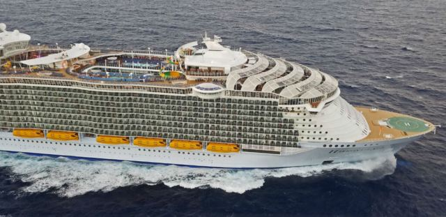Royal Caribbean's Harmony of the Seas is currently the largest passenger ship in the world. The ailing passenger was experiencing complications from an injury sustained prior to boarding the cruise ship.