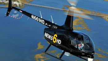 With a highly capable Ikegami HDL-F30 HD camera and Canon 22 to 1 HD lens, the R66 Newscopter will be able to work at higher altitudes, meaning quieter operation for those below. Skip Robinson Photo