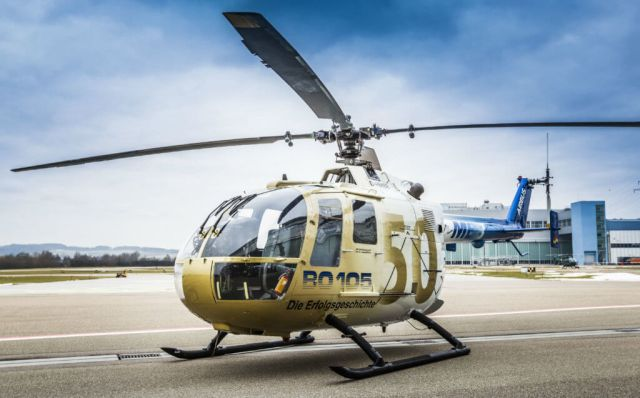 Since the BO105's first delivery in 1970, more than 300 customers around the world have purchased a total of some 1,400 aircraft, which have been operated in air rescue, as a police and military helicopter, as well as for VIP, passenger and cargo transportation. Airbus Photo