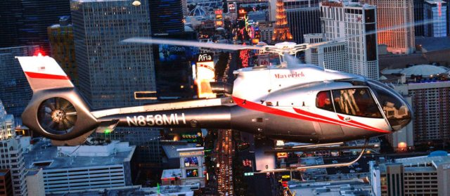 This is Maverick Helicopters' sixth consecutive Diamond Award for its Las Vegas and Grand Canyon South Rim locations and the second consecutive award for its Maui, Hawaii facility since its inception in 2015. Maverick Helicopters Photo
