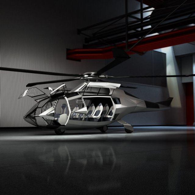 FCX-001 in darkened hangar