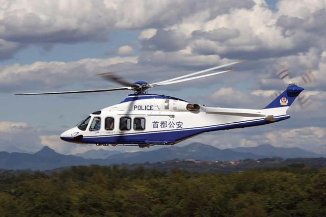 There are 19 Leonardo Helicopters flying with nine different police agencies, including several AW139s. Oscar Bernardi Photo