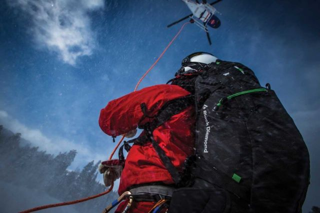 To ensure an accurate portrayal of the work they do, three local film crew members were embedded with the SAR team and added to the call out list. Dirk Collins Photo