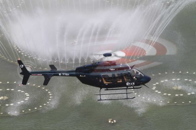 The Bell fleet in China recently passed the 100-helicopter mark, with the Bell 407GX the most popular aircraft. Bell is teaming with Shaanxi Aviation Industry Development and Xi'an Helicopter Company to establish a 407GX final assembly line in the country. WEIMENG Photo