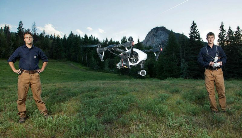 The one-year pilot project will evaluate the effectiveness and the functionality of UAVs in search-and-rescue.