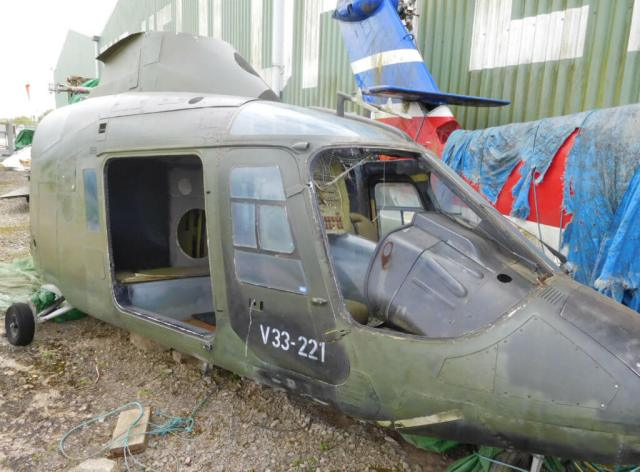 The museum will be joined by a number of private sellers bringing other unusual items such as Gazelle armored pilot seats and the front canopy of a Folland Gnat. There will also be lots of aviation memorabilia for sale including books, magazines, models and prints. The Helicopter Museum Photo