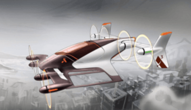 Airbus is developing an e-VTOL aircraft called Vahana through A^3, its Silicon Valley outpost. Airbus Image