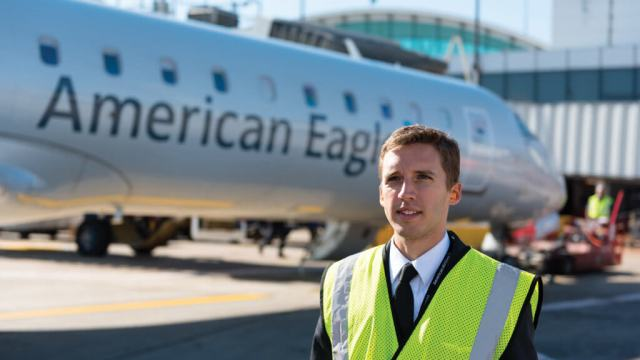 These pilots will fly first for regional airline Envoy Air, then ultimately move into the larger passenger jets flown by American Airlines itself. (Envoy manages the RTP.)