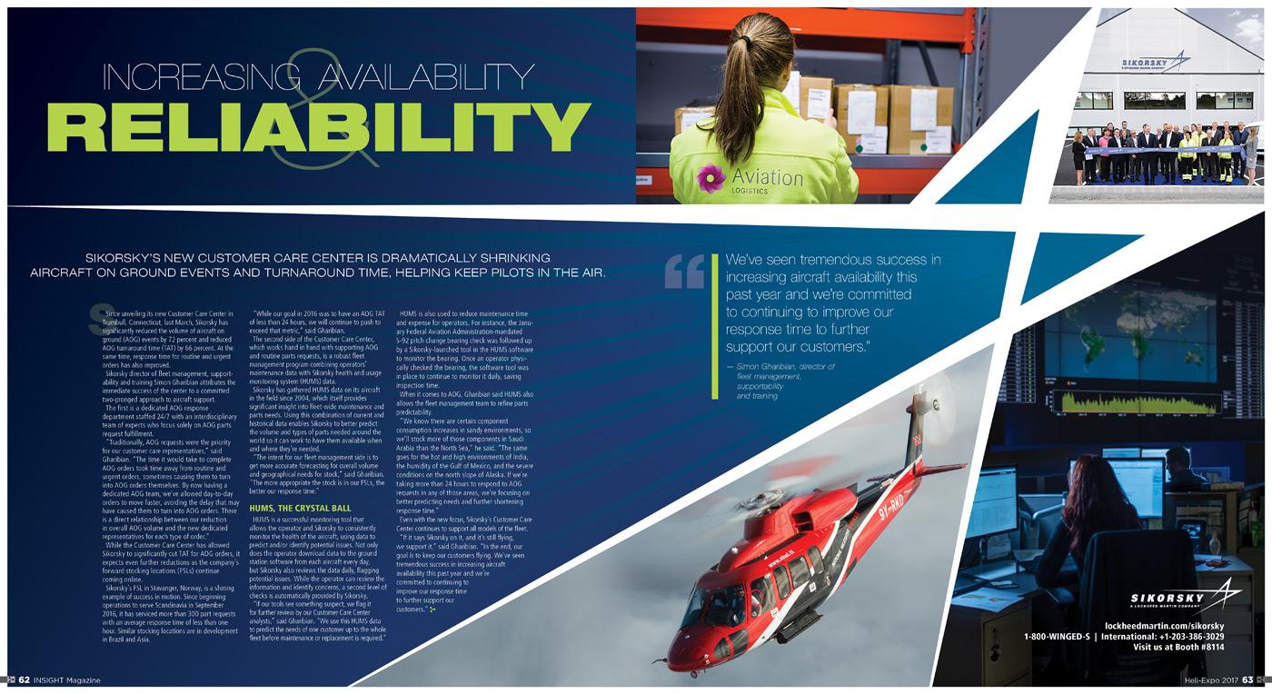 Sikorsky Insight profile