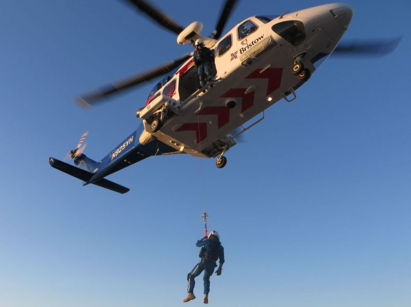 """""""Bristow has a long history of providing SAR capabilities around the world, with more than 65,000 SAR hours flown,"""" said Bristow Americas regional director Samantha Willenbacher."""
