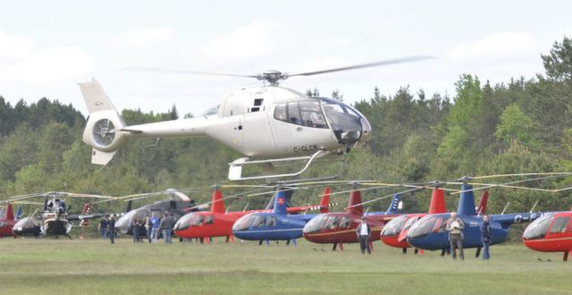 This year's fly-in attracted 53 helicopters: 26 Robinsons, eight Airbus helicopters and six Bell models, plus other rotorcraft that visited just for a banquet that was held during the event. Kenneth I Swartz Photos