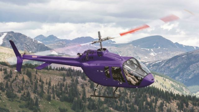 Bell Helicopter ultimately hopes to produce between 150 and 200 505s each year at its facility in Mirabel, Quebec. Bell Photo
