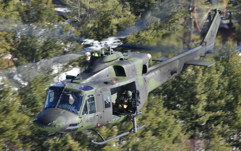 While the RCAF has outlined a limited life-extension project for the CH-146 that would upgrade avionics and some communications systems, it is also considering investing in a new platform. Mike Reyno Photo
