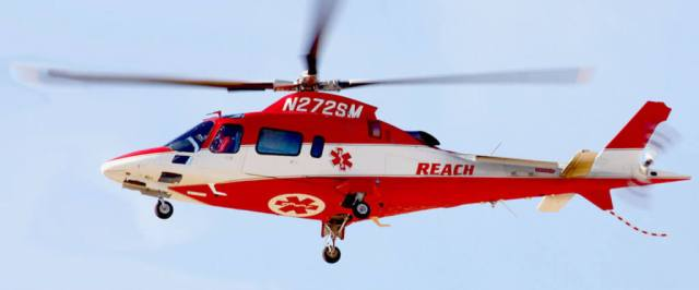 REACH has three air ambulance resources available in Montana, including a helicopter base in Bozeman and a dual helicopter/airplane base in Helena. Each base is staffed 24/7 with highly skilled critical care flight teams ready to respond at a moment's notice. REACH Photo