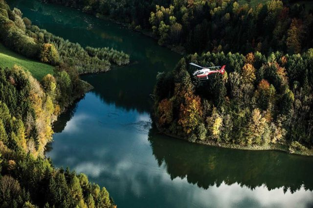 The low noise level and modern design of the H120 were the major reasons for its selection in the Swiss Helicopter fleet, according to Simon Baumann, the company's marketing coordinator.