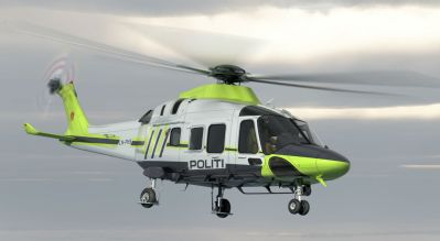 Leonardo was announced as the winner of a contract from the Norwegian Police Directorate in August 2017. The contract calls for three AW169s with an option for a further three units, and a 10-year maintenance package. Leonardo Photo
