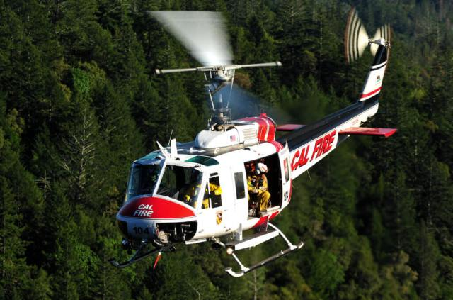 Cal Fire will be replacing its fleet of Vietnam-era Huey helicopters with new Sikorsky S-70i Black Hawks. Skip Robinson Photo
