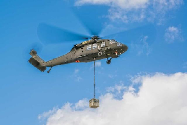 After flying a full duty day with human crews, an autonomous Black Hawk could potentially be used for unmanned resupply or other missions. Steven Kaeter Photo