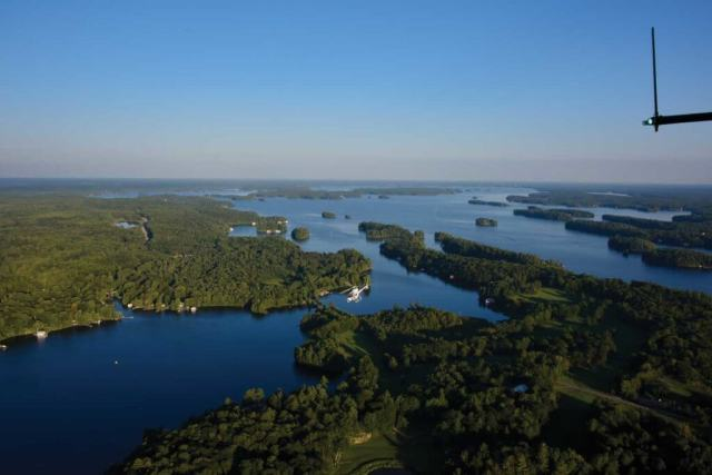With over 1,500 lakes in the region, there are many opportunities for prospective cottage owners to secure lakefront space for their property.