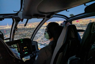"The approximately 4.5-hour ""Heli & Wine Experience"" tour will combine an awe-inspiring helicopter tour with the opportunity to sip, savor and enjoy world-class wine and dining. Sundance Photo"