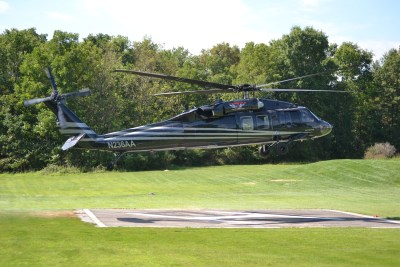 Haverfield Aviation will be using its new Black Hawk to help support its work primarily in the electric utility industry. Haverfield Aviation Photo