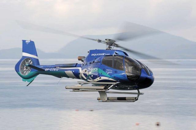 PhilJet H130 in flight