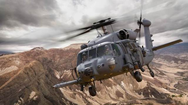 An illustration of the Sikorsky Combat Rescue Helicopter. Lockheed Martin Photo