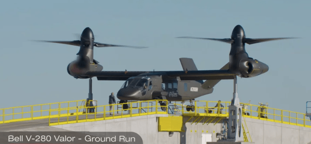 The Bell V-280 Valor provides warfighters strategic options, operational reach, tactical agility and overmatch at the point of decision. Bell Helicopter Photo