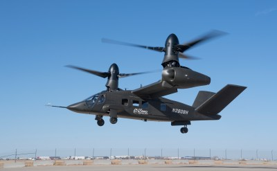 Bell's V-280 Valor tiltrotor has made its first flight in Amarillo, Texas. Bell Helicopter Photo