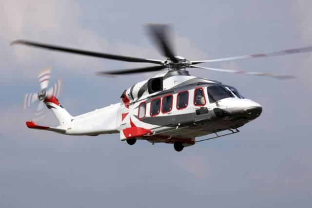 Many of the AW189's customers are in the offshore oil-and-gas market, where high-altitude performance is not a priority. The aircraft is currently certified to a ceiling of only 10,000 feet, although it is capable of flying higher. Leonardo Photo