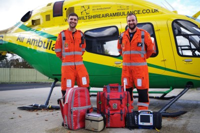 • Wiltshire Air Ambulance has been saving lives for 27 years. The charity shared a helicopter with Wiltshire Police for 24 years until it became a stand-alone air ambulance on Jan. 9, 2015. It then began operating its own helicopter, a Bell 429. Wiltshire Air Ambulance Photo