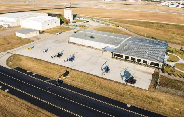 Epic's facility is adjacent to the 24-hour control tower at Fort Worth Meacham Airport, providing students with opportunities to learn more about air traffic control. Will Graham Photo