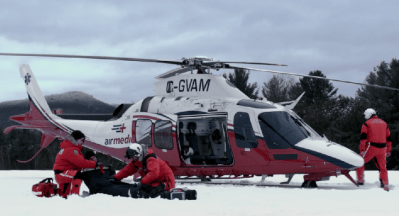 Airmedic's computer-aided dispatch has been completely adapted to the unique environment of airborne medical evacuations -- a first in Quebec. Airmedic Photo