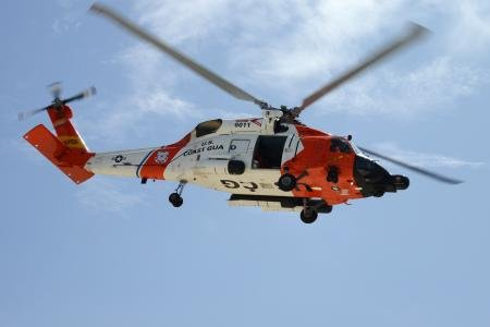 Coast Guard Rescues Family from a Mudslide