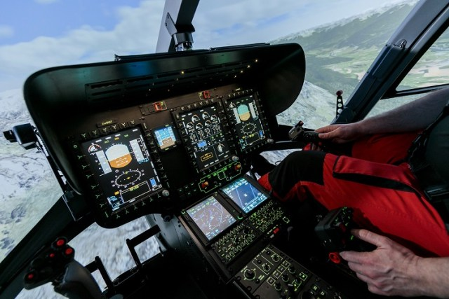The new made-in-Germany Level D simulator was ready for training on Jan. 10, 2018. Christoph Papsch Photo