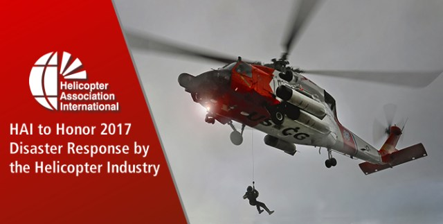 HAI will present certificates of honor to individuals, companies, or organizations who responded to natural disasters in 2017.