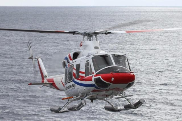 Ultimate Heli will complete the scientific support contract with two of its Bell 412EPs. Ultimate Heli Photo