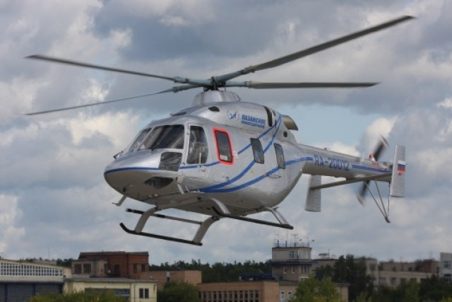 Ansat is a light, twin-engine, multipurpose helicopter produced in lots by Kazan Helicopters.