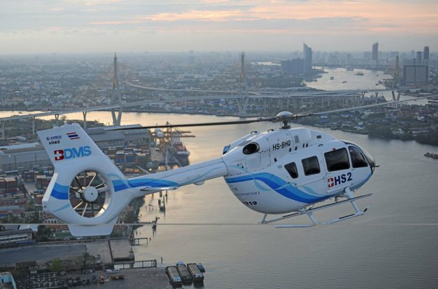 In 2017 alone, 76 H145s were ordered by customers globally. Airbus Helicopters Photo
