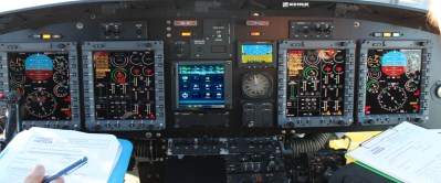 Astronautics' multifunction display system (MFDS) is a key part of SENER-Babcock España's avionics upgrade as part of the Spanish Navy's AB-212 Helicopter Life Extension Program. Astronautics Photo