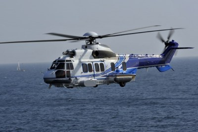 Omni Taxi Aero recently signed a contract with Total E&P that saw the Super Puma return to service in the offshore sector in Brazil. Omni Photo