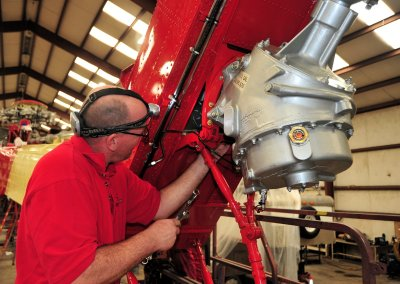 According to a recent survey, two-thirds of HAI members are already finding it more difficult to locate and hire qualified mechanics. Skip Robinson Photo